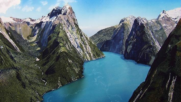 New Zealand Picture: New Zealand Named Third Most Beautiful Country In The