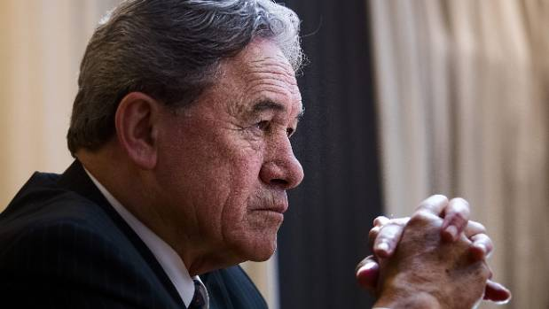Winston Peters' pension problems should never have been given to National ministers.