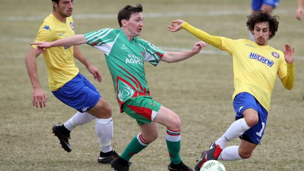 The arrivals of Cory Chettleburgh, pictured, and Brian Kaltack should provide more competition in the Tasman United squad.