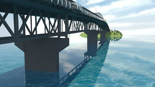 SkyPath would be annexed to Auckland Harbour Bridge and could carry up to 14,000 visitors in a weekend.