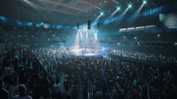 Have we the population to really sustain a new indoor arena?