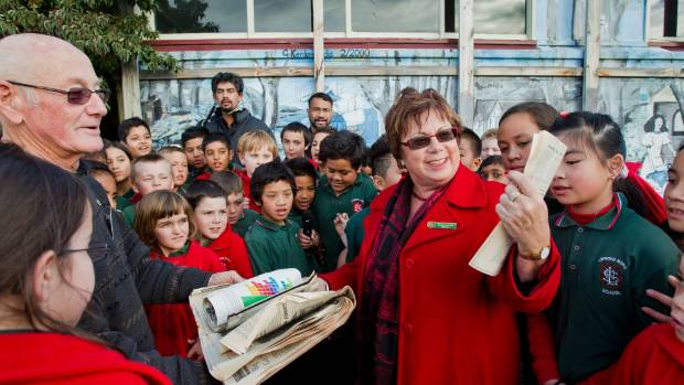 Linwood North School principal Sandra Smith, centre, says some of the changes suggested by the researchers are ...