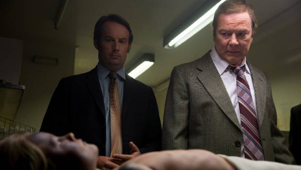 Arlo MacDiarmid and Mark Mitchinson in Dear Murderer.