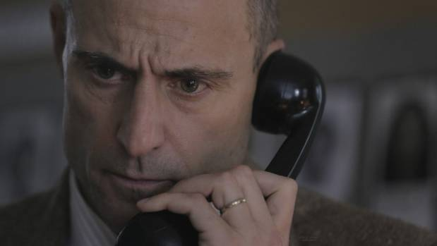 Mark Strong is one who certainly can't be accused of phoning in his performance in 6 Days.