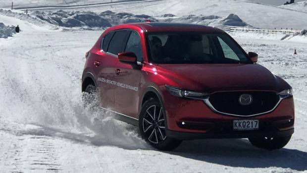 New CX-5 has both i-Activ AWD and G-Vectoring Control; CX-9 lacks the latter, but that changes this month.