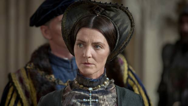 Michelle Fairley plays Lady Margaret Beaufort in The White Princess.