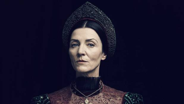 Michelle Fairley says there are parallels between Lady Margaret Beaufort and Catelyn Stark.