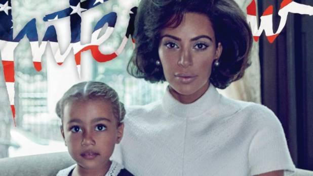 Magazine Cover Declares Kim Kardashian 'America's New First Lady'