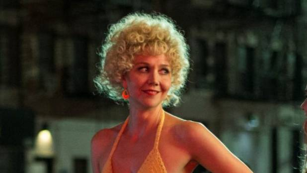 Maggie Gyllenhaal as sex worker Candy Merrell in The Deuce.