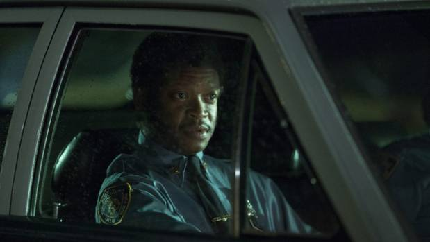 Lawrence Gilliard Jr plays police officer Chris Alston in The Deuce.