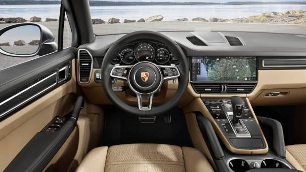 The new 2018 Porsche Cayenne.
