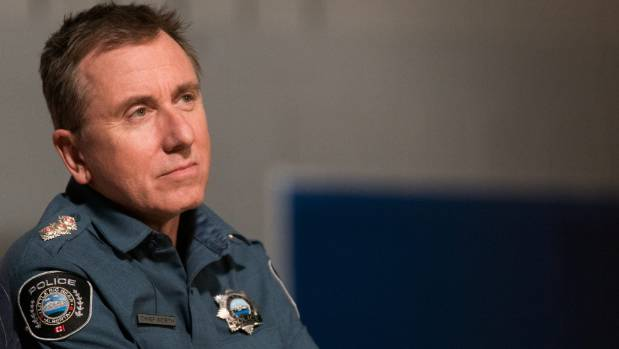 Tim Roth says he spoke to British cops who had relocated to Canada as research for the role.