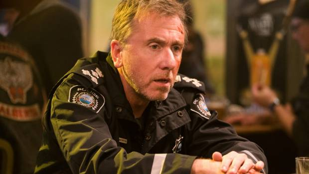 Tim Roth plays recovering alcoholic and cop Jim in Tin Star.