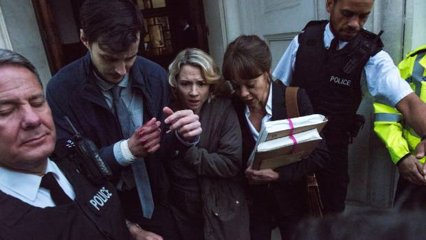 In Fearless, lawyer Emma Banville defends a man she believes was wrongly convicted of murder.