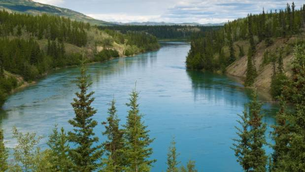 One of the world's most remote areas - the Yukon River.