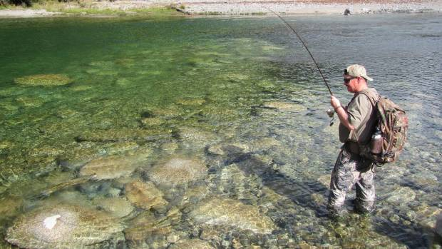 """Anglers say the South Island now has more than 70 """"lost rivers"""" that are un-fishable or have declined."""