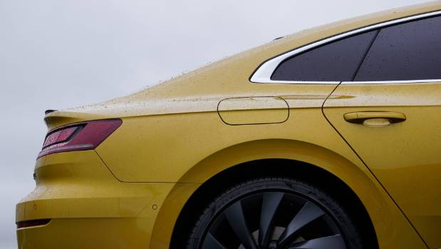 """There's a fifth door, but VW prefers to call the Arteon a """"fastback""""."""