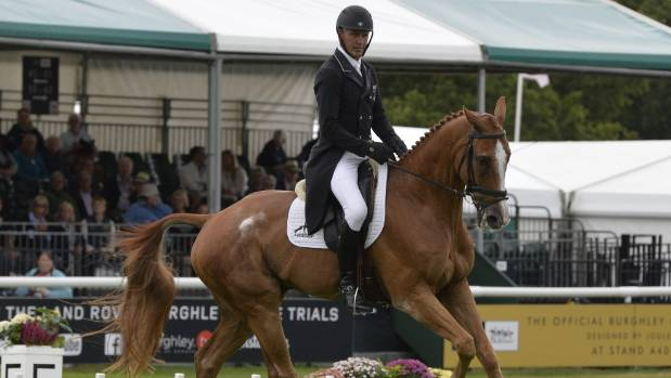 Townend leads British dominance at Burghley Horse Trials