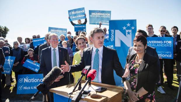 Prime Minister Bill English on Tuesday announces the National Party pledge to build the Southern Link if it's re-elected.