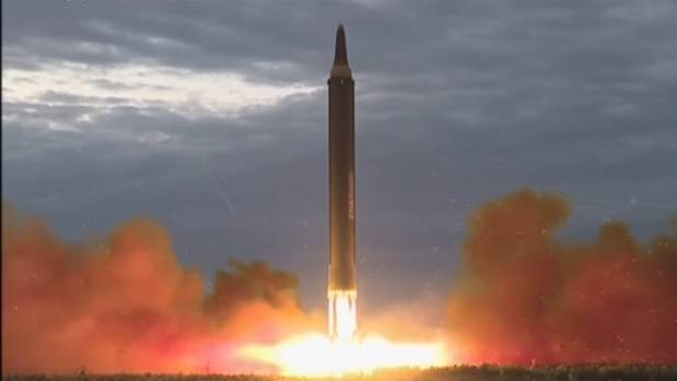 North Korea launched a missile that flew over Japan's Hokkaido island last week.