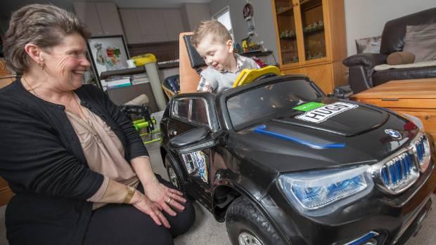 Christine Simmons hopes Selective Dorsal Rhizotomy (SDR) surgery in America will help her grandson Hugo, 3, walk ...