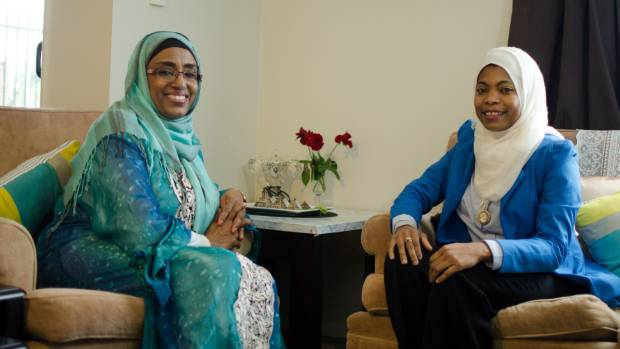 Neama Abubaker Adam and Asya Abeid understand the limitations of not being able to drive.