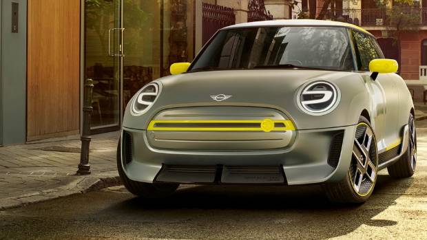 Mini has unveiled its electric concept.