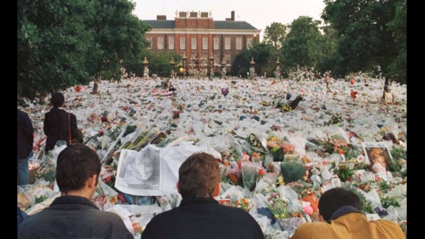 The Day Diana Died I Was Living Amongst The Grieving People In