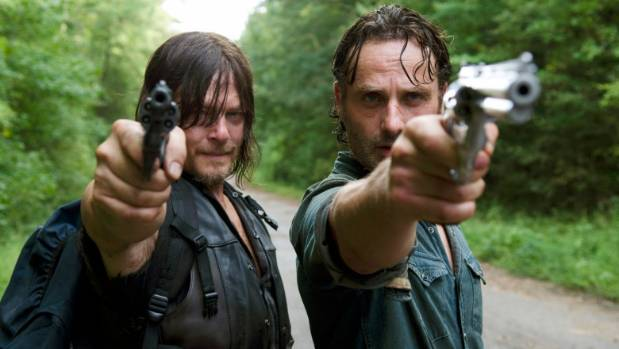 Daryl and Rick from The Walking Dead