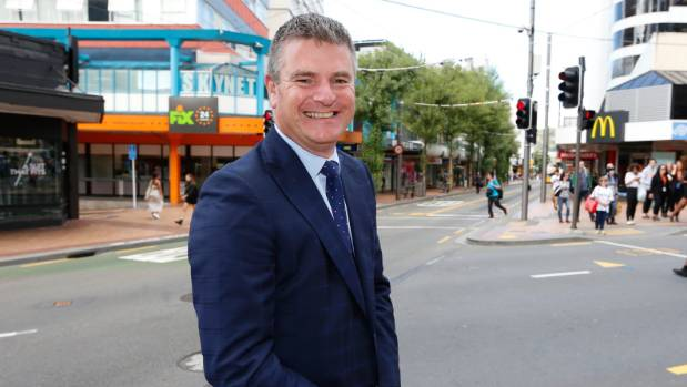 First Retail managing director Chris Wilkinson says contraflow lanes are not the best solution for Cuba St.