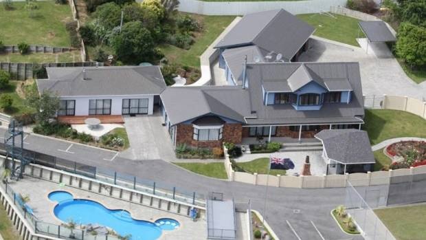 The 15 Acre New Plymouth Property Is Known As Hillsborough Hideaway And Has A Train