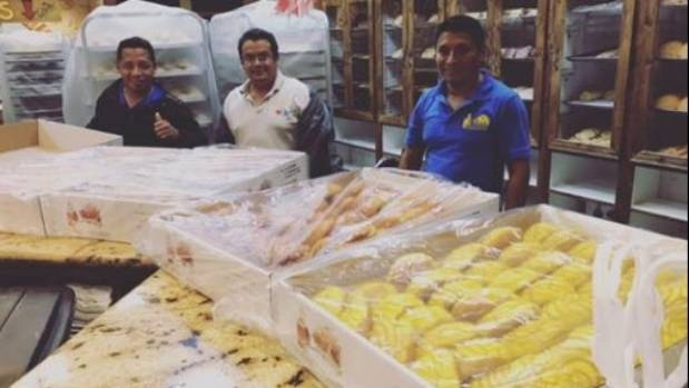 Trapped Bakers Make Hundreds of Loaves of Bread for Hurricane Harvey Victims