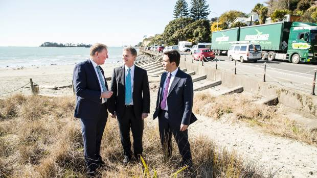 Tahunanui became a sea of blue bromance last Tuesday as the National roadshow rolled into town, with Bill English and ...