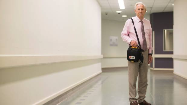 Dr Harvey White, director of  Greenlane Hospital coronary care unit, says doctors have seen an increase in cases of ...
