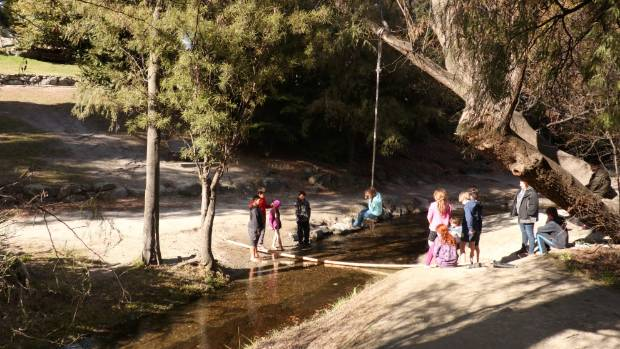 A 3-metre-wide slide will connect Queenstown Gardens to Horne Creek.