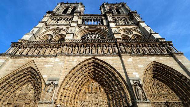 The 854-year old Notre-Dame cathedral is France's most-visited monument.