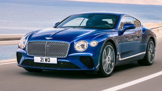 New Bentley Continental GT.