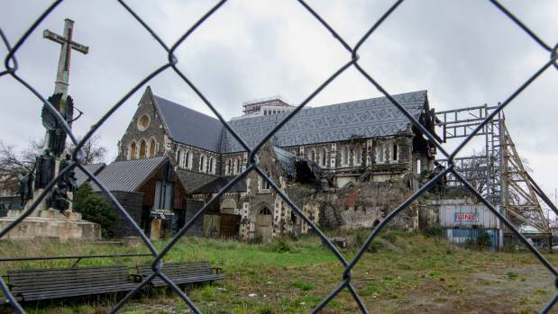 The cathedral has been sitting derelict in the city centre for over six years.