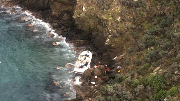 A Marlborough couple had been aboard their 10-metre launch near Cape Jackson on Thursday night when the vessel foundered ...