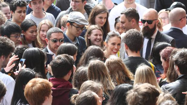 Jacinda Ardern's popularity rocketed her party's poll ratings.