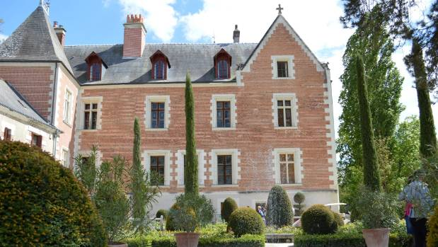 Clos Luce: Leonardo da Vinci's last home in Amboise. He was asked to come and live in France by Francois I, and brought ...