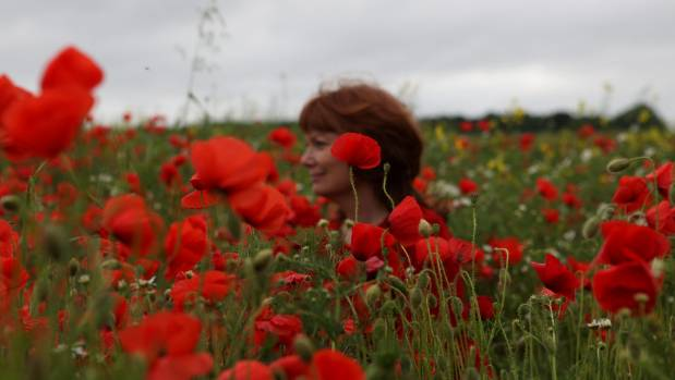 Me in a field of poppies. Seven years ago these fields were rare in my area and now they no longer exist due to cereal ...