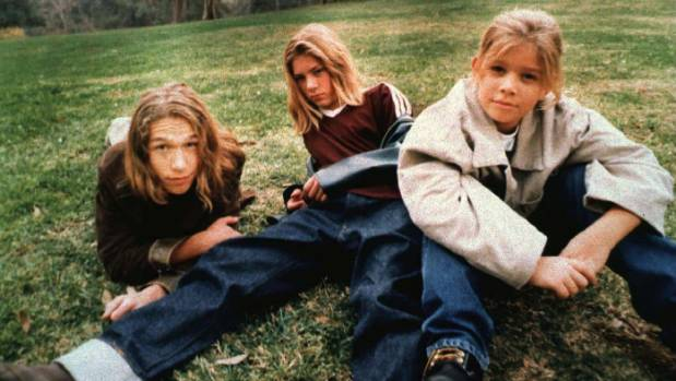 The Hanson brothers - from left, Isaac, Taylor and Zac - were just 16, 14 and 11 when they released 'Mmmbop' in 1997.