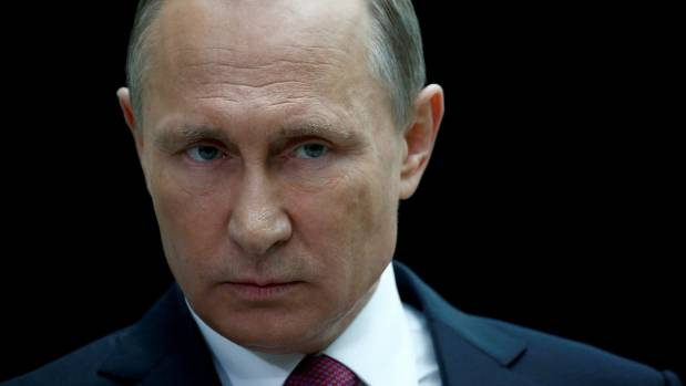 """Russian President Vladimir Putin told NBC News that there's """"no proof"""" of any involvement by Russia at the """"state ..."""