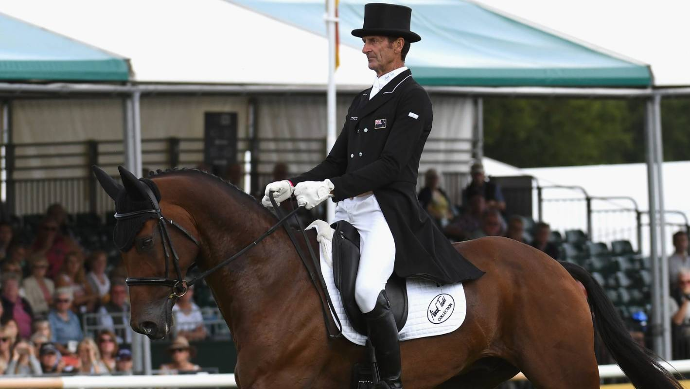 Sir Mark Todd On Top At Burghley Horse Trials With