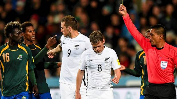 New Zealand through to intercontinental play-off for World Cup in Russian Federation