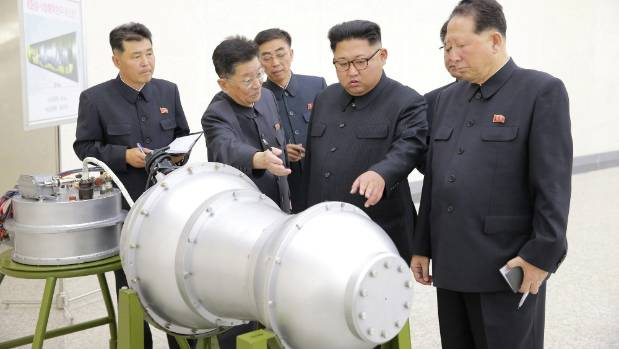 The test came just after North Korea announced it had developed an H-bomb it had fitted to a missile.