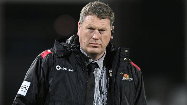 Canterbury coach Glenn Delaney.