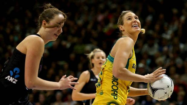 Australian shooter Caitlin Bassett has long been a thorn in the Silver Ferns' side.