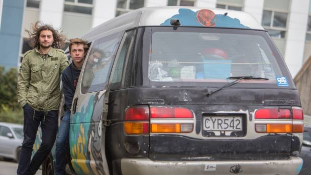 French tourists  Antoine Berthelot, 23, and Sven Seigneurin, 23 had items valued up to $5000, including passports, taken ...
